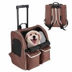 Pettom ペットキャリー キャスター 中型犬 キャリー 犬用 キャリーカート 猫 キャリーバッグ 手提げ リュック