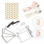 マスキングテープ 和紙テープ 手帳シール 和紙シール セット 少女&子供用 DIY 手作り 組合せセット(パッケ