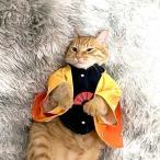 ペット用cosplayコスプレ服 鬼滅の刃 鬼殺隊 竈門炭治郎 人形付きペット服 和服 羽織 浴衣 春 秋 ペット服 猫の