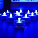 TopYart LED潜水ライト キャンドルライト 防水 水中ライト 花瓶 金魚鉢 水槽 水族館 水中照明 インテリア お風呂