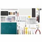 レザークラフト工具セット 革工具セット 手縫い道具 穴あけポンチ DIY 革細工キット