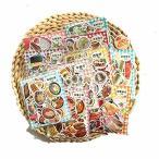 100枚入×10点セット1000枚 手帳シール かわいい いろいろなシール 子供 人気 大量(美食)