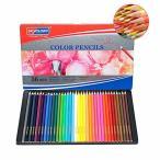 色鉛筆 36色 油性鉛筆 アート色鉛筆セット メタルケース - Roleness - カラーペン 塗り絵 美術 描き用 スケッチ用