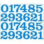 (シャシャン)XIAXIN 防水 PVC製 数字 ナンバー ステッカー セット 耐候 耐水 ローマ字 数字 キャラクター 表札