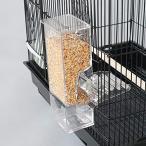 TARATI 鳥用フードフィーダー 餌やり 餌入れ 給餌機 自動餌与え 透明容器キャット食器 出張旅行お留守番 小型