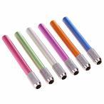 鉛筆ホルダー 鉛筆キャップ 補助軸6本セット6色 鉛筆延長 アシスト 色鉛筆補助軸 KACIG ワンヘッドメタルハン