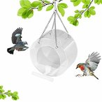 Hitasi 鳥の餌入れバードフィーダーアクリルバードフードボックス鳥餌無駄防ぐ 飛び散り対策 給餌器 防水野鳥