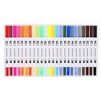 マーカーペン 水性ジェルボールペン 12色 24色 セット カラーペン 水性ペン 学生用 事務用 筆記具 文房具 水彩
