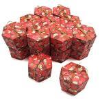KICAN 20個入り 六角形 キャンディボックス かわいい ギフトボックス ラッピング袋 キャンディボックス 紙 チョ