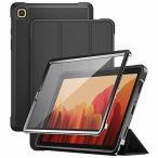 """ProCase サムスン Galaxy Tab A7 ケース 10.4"""" 2020, スタンド フォリオケース フィルムガラス付き 対応端末:Galaxy Tab A7"""