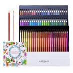 BlueFire 色鉛筆 セット 72色水彩色鉛筆 水性色鉛筆 カラーペンシル 色番号付き 水性ペン 子供/大人の 塗り絵 色