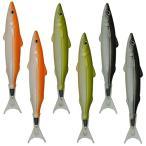 Maydahui かわいい フィッシュペン(お魚ボールペン)油性ボールペン 黒インク 6本セット リアルな魚型ペン 魚