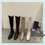 ニーハイブーツ ロングブーツ ブーツ おしゃれ 大きいサイズ ロング かわいい ハイヒール  黒 歩きやすい 履きやすい 秋 冬  2タイプ