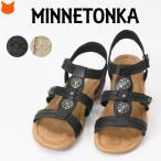 ミネトンカ Minnetonka SONYA ストラップ サンダル スエード レザー レディース 軽い 本革 大きい サイズ 25cm 26cm 27cm