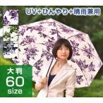 ショッピング大判 大判 折りたたみ日傘/プレミアムホワイト/日本製/大判/遮熱