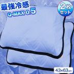 枕パッド 2枚セット 接触冷感 クール  Q-MAX  【ポスト投函 配達商品・代引き不可】