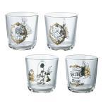 ディズニー 美女と野獣テーブルウェアコレクション グラス4Pセット 51079