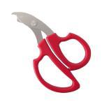 リサイクルハサミ シャトルくん 赤 RHS-01