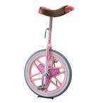 一輪車18サイズ ピンク F-2824P 車 一輪車