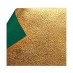 もみ金箔両面和紙 単色 12cm 緑 10枚入 KJ-24G 5セット