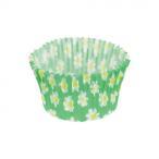 洋菓子型 パン型 パール金属 ベイクイージー 紙製カップケーキ焼型75mm プチフラワー 50枚入 D-2683