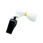 銀鳥産業 ギンポー カラーホイッスル 黒 20個セット YO-CWKF