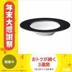 丸東 STUDIO 010 Cracks(BK) 26.5cmスーププレート(BK) ブラック CK-104