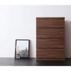 チェスト 収納 収納家具 シ ンプル モダン リビング nux ヌクス 幅60 4段 chest チェスと ラック 家具 引き出し ウォールナット調 DVDラック CDラック 衣類