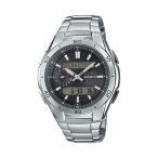 正確な時を刻む電波腕時計。