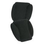 村井 フィッティングピロー 土踏まず枕 低反発ウレタンフォーム使用 ブラック