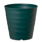 (ACTOR) 鉢・プランター フレグラーポット 24型 ダークグリーン 奥行24×高さ24×幅24cm