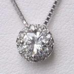 ショッピングネックレス ネックレス ダイヤモンド PT900 プラチナ ペンダントネックレス ベネチアンチェーン付き