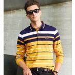 ポロシャツ メンズ 長袖 ポロ Polo Shirt カジュアル 秋冬 ゴルフシャツ スポーツ ブランド 長袖ポロシャツ bons915