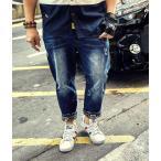 ジーンズ メンズ デニム パンツ JEANS ダメージ加工 大きいサイズ ジーパン PENNY PEI ppdem011