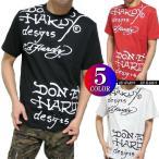 エドハーディー ed hardy 半袖 Tシャツ メンズ 総柄/プリント カットソー