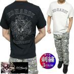 エドハーディー ed hardy Tシャツ メンズ オール/刺繍/スカル/ドクロ 半袖