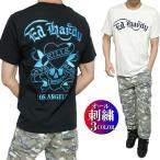 エドハーディー ed hardy Tシャツ メンズ オール/刺繍/スカル/ドクロ 半袖 2