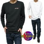エドハーディー ed hardy Tシャツ ロンT メンズ ラインストーン シンプル ゴールド/シルバー 長袖