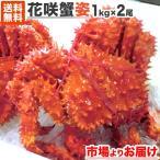 花蟹 - 特大 花咲蟹 姿 800g前後 「1尾からどうぞ!」北海道