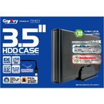 HDDケース IDE 3.5インチ IDE-CASE3.5bk 黒
