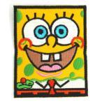 アイロンワッペン ワッペン キャラ・ロゴワッペン 刺繍ワッペン スポンジボブ アイロンで貼れるワッペン