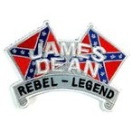 アイロンワッペン ワッペン キャラ・ロゴワッペン 刺繍ワッペン ジェームスディーン JAMES DEAN アイロンで貼れるワッペン