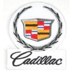 アイロンワッペン  ワッペン 車・バイク(メーカー)ワッペン  Cadillac キャデラック 刺繍ワッペン アイロンで貼れるワッペン