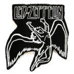 アイロンワッペン  ロック バンド 音楽(バンド) ワッペン 刺繍ワッペン LED-ZEPPELIN アイロンで貼れるワッペン