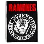 アイロンワッペン  ロック バンド 音楽(バンド) ワッペン 刺繍ワッペン RAMONES アイロンで貼れるワッペン