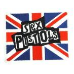 アイロンワッペン  ロック バンド 音楽(バンド) ワッペン 刺繍ワッペン Sex Pistols セックスピストルズ アイロンで貼れるワッペン