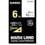 【在庫あり】カシオ ネームランドテープ XR-6WE