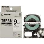 テプラ PRO用テープカートリッジ 白ラベル SS9K [黒文...