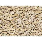 英国化粧砂利 コッツクラッシュ(石灰石) 天然石 25kg