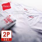 ショッピングSHIRTS Tシャツ ヘインズ Hanes T-shirts Japan Fit Vネック 2枚組